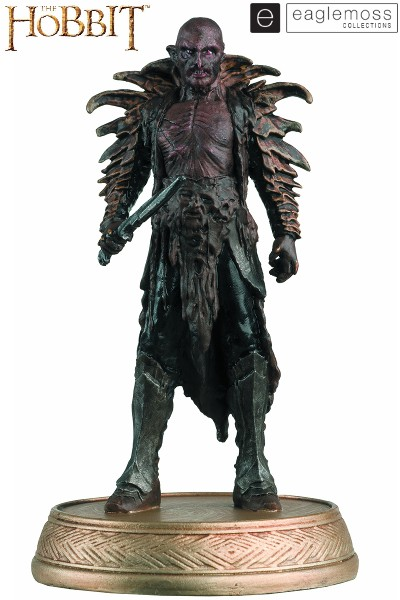 Eaglemoss The Hobbit Yazneg The Orc with Collector Magazine